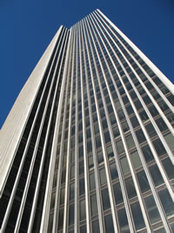 corning tower looking up