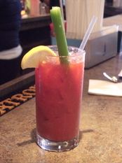 Bloody Mary at Cafe Madison in Albany