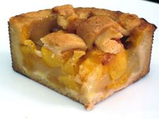 dutch desserts peach tart