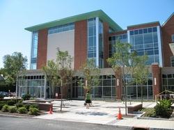 Massry Center main entrance