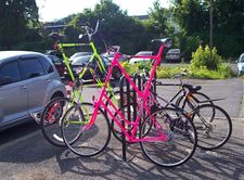 neon bikes