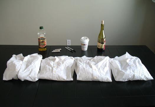 shirts setup