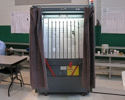 lever voting machine