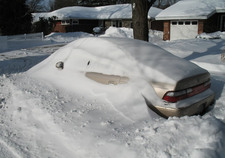 Thumbnail image for snow buried car