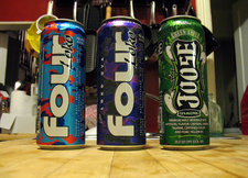 four loko tasting cans