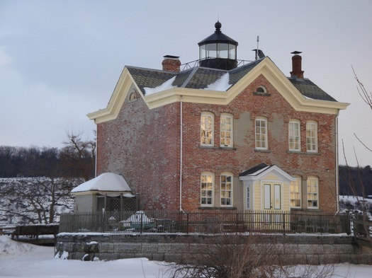 Saugerties Lighthouse, land side.