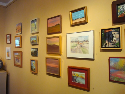 Mimosa gallery, Beekman Street.