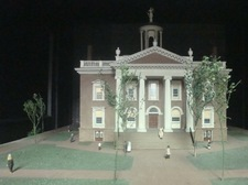 miniature of old state house.