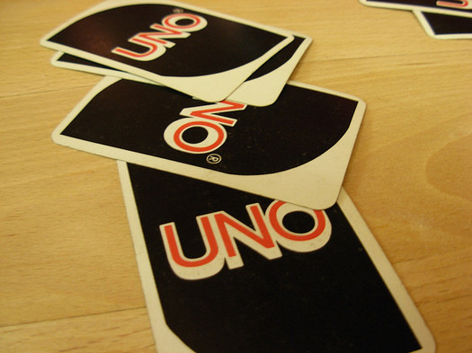 Uno cards from Flikr.