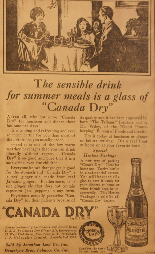 vintage ads katie Canada Dry