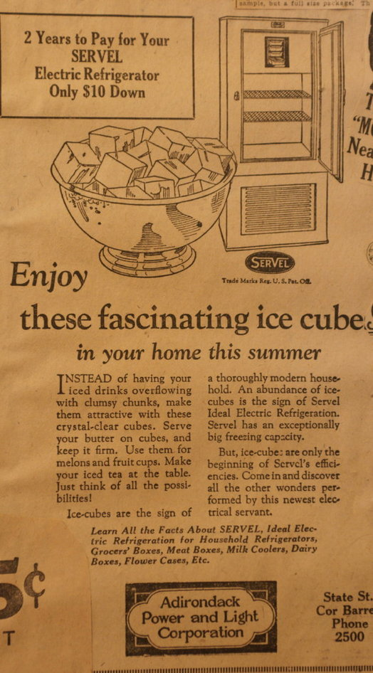 vintage ads katie Fascinating Ice Cubes