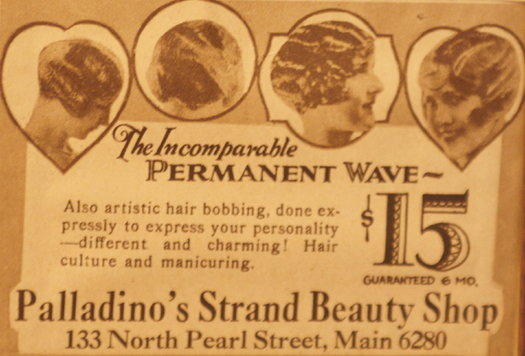 vintage ads katie Permanent Wave