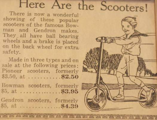 vintage ads katie Scooters