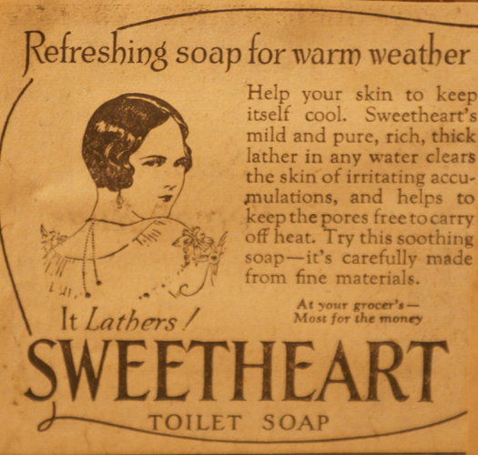 vintage ads katie Sweetheart Soap