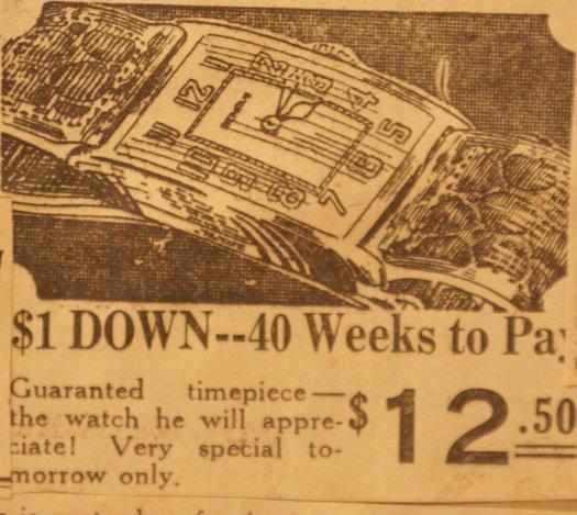 vintage ads katie watch