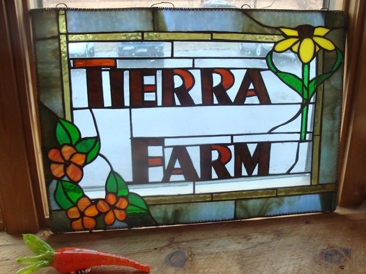 tierra stained glass