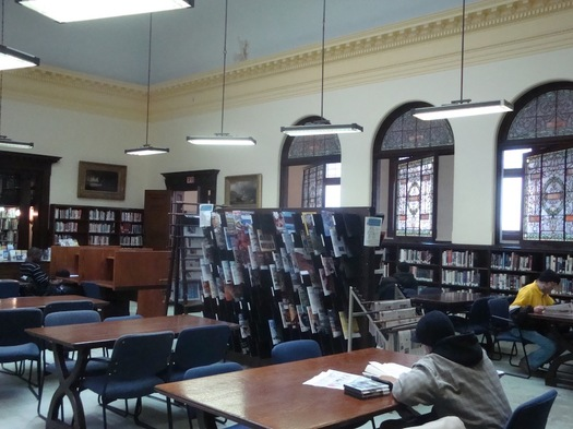 troy reading room