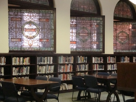 troy library windows