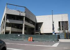 troy city hall demolition april 2011