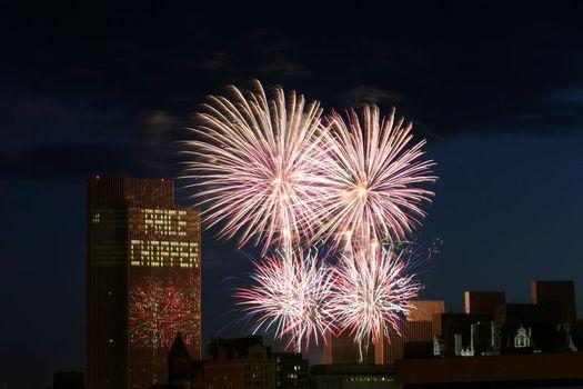 ESP fireworks by Bennett Campbell
