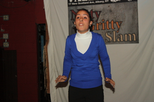 Tammy Lopez nitty gritty poetry slam