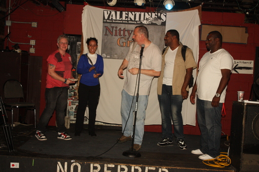 first Nitty Gritty Poetry Slam at Valentines