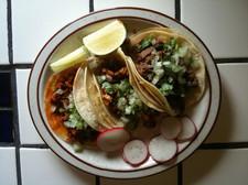 la mexicana tacos overhead