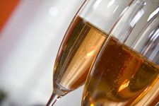 Thumbnail image for champagne glass closeup