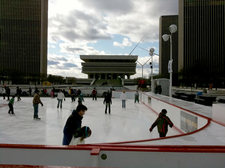 empire state plaza ice skating 2012 state library