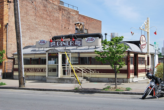 miss albany diner exterior