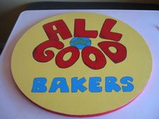 All Good Bakers sign