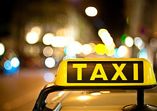 generic light up taxi sign