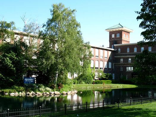 albany international building menands pond