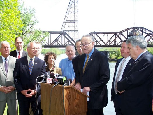 chuck schumer livingston ave bridge