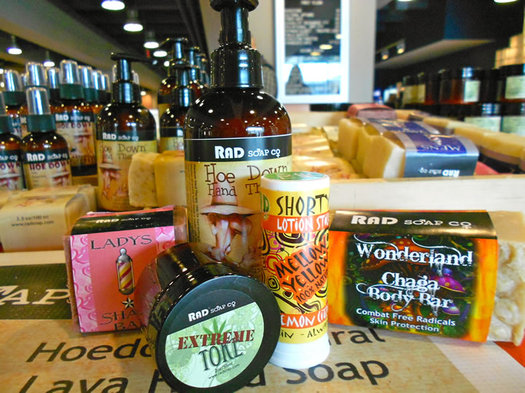 RAD soap products