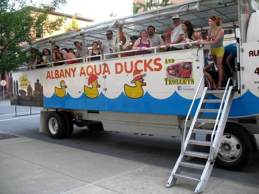 Albany Aqua Duck in Troy
