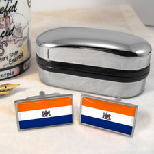 ebay albany flag cuff links