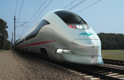 amtrack high-speed train concept