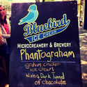 phantogram ice cream sign