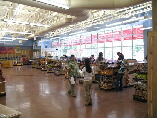 Wolf Rd Trader Joes checkouts wide