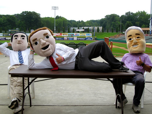 valleycats mayors mascots