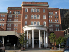 albany medical center exterior