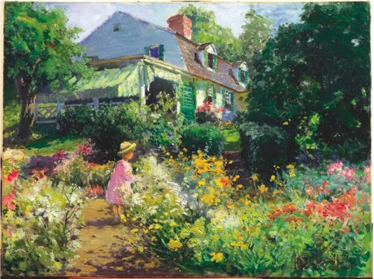 in vorhees garden by matilda browne