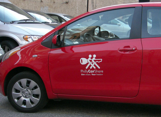 philly car share car