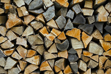 fire wood pile by flickr haria vorlan