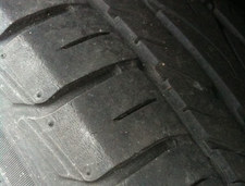 generic tire closeup