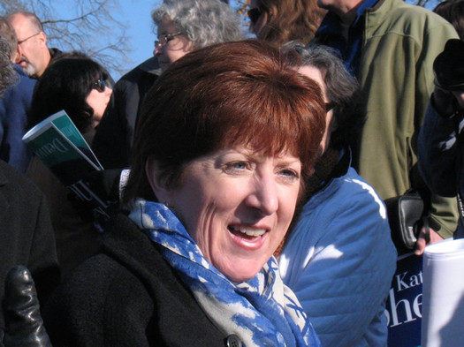 kathy sheehan at albany mayoral candidacy announcement