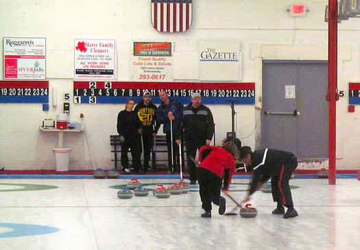 schenectady curling club sweeping