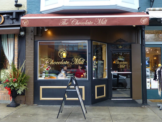 chocolate mill saratoga exterior
