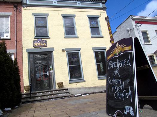 cafe nola schenectady exterior